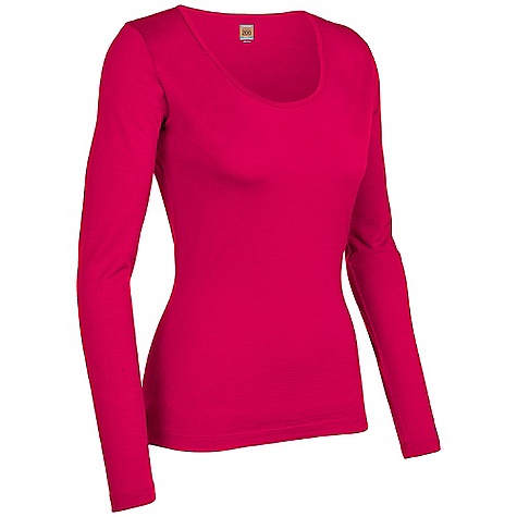 Free Shipping. Icebreaker Women's LS Scoop DECENT FEATURES of the Icebreaker Women's Long Sleeve Scoop The scoop on everyday comfy style Reinforcing fabric binding at scoop neckline Non-itch and odour resistant - $79.95