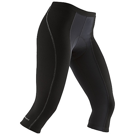 Free Shipping. Icebreaker Women's Halo 3-4 Pant DECENT FEATURES of the Icebreaker Women's Halo 3/4 Pant 84% merino, 14% nylon, 2% spandex Your three-season riding buddy Over-the-knee coverage Body-contouring 8-panel construction Durable, supportive Ponte fabric retains shape Superior anatomical - $179.95