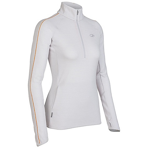 On Sale. Free Shipping. Icebreaker Women's Tempest Zip DECENT FEATURES of the Icebreaker Women's Tempest Zip 320gm merino Stretchy ribbed insets for fit and styling Comfy raglan sleeves Kangaroo hand pocket with media cord port Slight drop tail for coverage and flair - $110.99