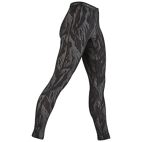 Free Shipping. Icebreaker Women's Legging Ice Camo DECENT FEATURES of the Icebreaker Women's Legging Ice Camo Undercover cosy Soft merino warms/dries fast Close-to-body fit Comfy gusset at crotch Winter camo print inspired by ice-capped mountains - $89.95