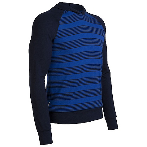 On Sale. Free Shipping. Icebreaker Men's Eclipse Hood DECENT FEATURES of the Icebreaker Men's Eclipse Hood 260gm merino Out-of-this-world comfort Insulating, highly breathable merino Free-moving raglan sleeves Lightweight, shaped hood stays on Classy feed stripe print - $82.99