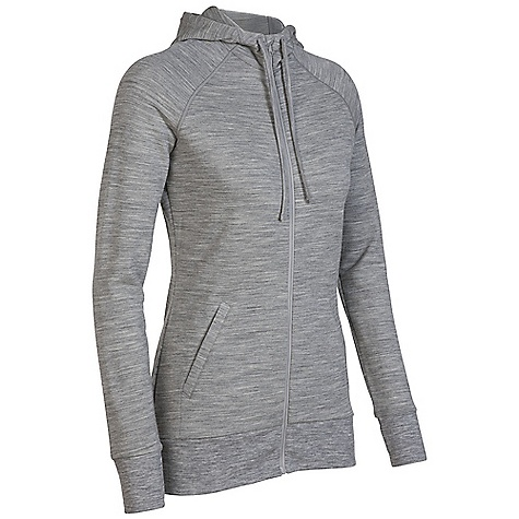On Sale. Free Shipping. Icebreaker Women's Crush Hood DECENT FEATURES of the Icebreaker Women's Crush Hood Your new crush for indulgent comfort Plush, stretchy terry Comfy raglan sleeves Low hip length Drawcord hood - $119.96