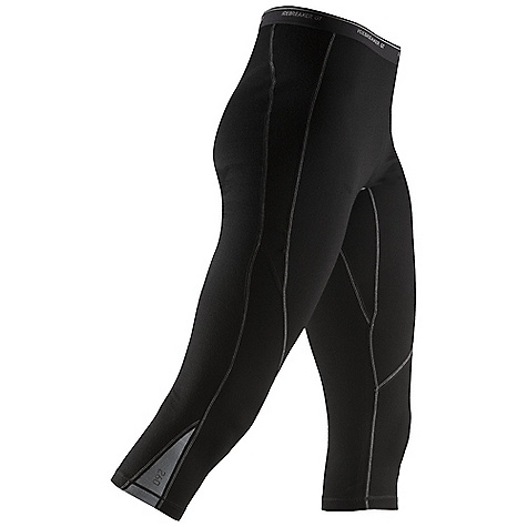 Free Shipping. Icebreaker Women's Express Legless DECENT FEATURES of the Icebreaker Women's Express Legless 3/4 leg won't bind under boots Cuff stays in place Close-to-body fit for warmth Odour resistant Smooth Flat-lock seams won't chafe Comfy gusseted crotch - $99.95
