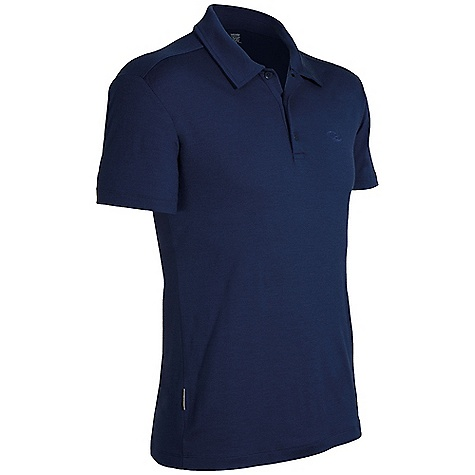 Free Shipping. Icebreaker Men's Kent SS Polo DECENT FEATURES of the Icebreaker Men's Stripe Kent Polo Self fabric collar 3-button placket Set-in sleeves Icebreaker tonal embroidered logo and pip label Weight: 200 g - $94.95