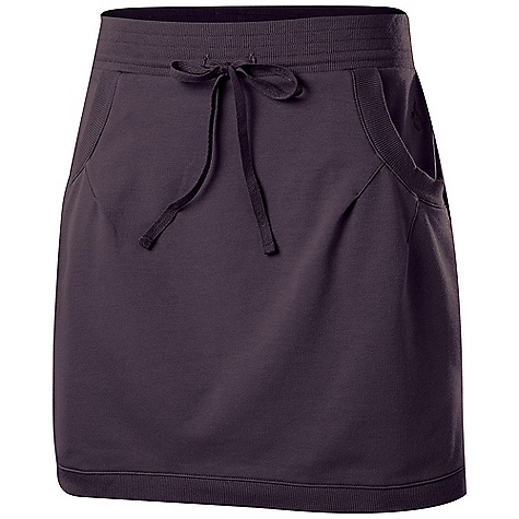 On Sale. Free Shipping. Isis Women's Allie Skirt DECENT FEATURES of the Isis Women's Allie Skirt 2 x 1 Rim Trim Isis star rivet detail Drawcord waist The SPECS Fabric: 7.8 oz 57% cotton, 37% polyester, 6% spandex Body Length: 17.5in. - $43.99