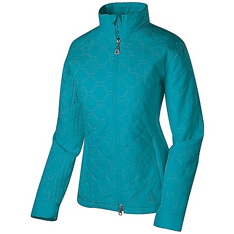 Free Shipping. Isis Women's Estrella Jacket DECENT FEATURES of the Isis Women's Estrella Jacket Top stitch detail collar Plush fleece-lined zip hand pockets Internal zip security pocket The SPECS Body Length: 27.5in. Fabric: 3.2 oz 100% Polyester Peached Insulation: 100% polyester - $138.95