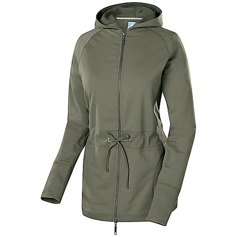 Free Shipping. Isis Women's Allie Jacket DECENT FEATURES of the Isis Women's Allie Jacket 2 x 1 Rim Trim Isis star rivet detail Raglan sleeve Drawcord waist The SPECS Fabric: 7.8 oz 57% cotton, 37% polyester, 6% spandex Body Length: 28in. - $98.95