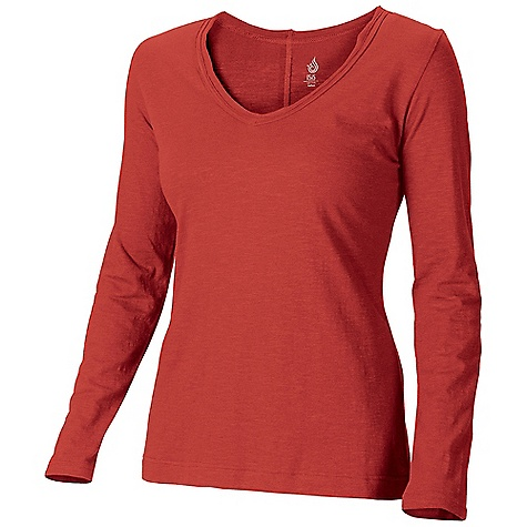 On Sale. Isis Women's Dream LS V-Tee DECENT FEATURES of the Isis Women's Dream Long Sleeve V-Tee Raw edge trim at neckline Double-needle stitching The SPECS Fabric: 4.7 oz cotton slub Body Length: 26in. - $30.99