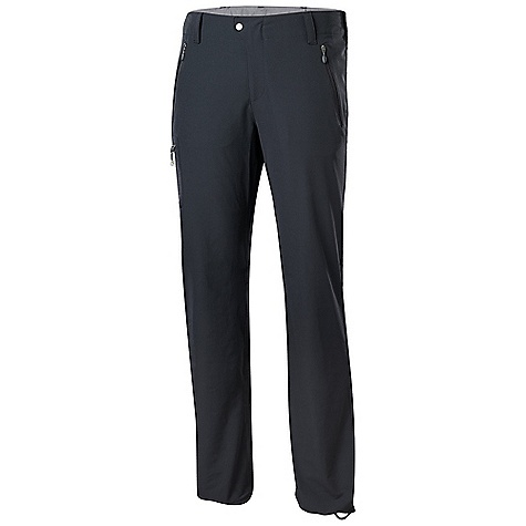 Free Shipping. Isis Women's Stride Pant DECENT FEATURES of the Isis Women's Stride Pant Reverse coil zip pockets Contoured, deep thigh pocket with invisible zip Invisible zip back pocket Microsuede-lined waist band Snap close waist with secondary hook and bar closure Adjustable internal waistband Interior hem bungy The SPECS Inseam: 31.5in. Fabric: 5.7 oz 89% nylon, 11% spandex, double weave - $138.95