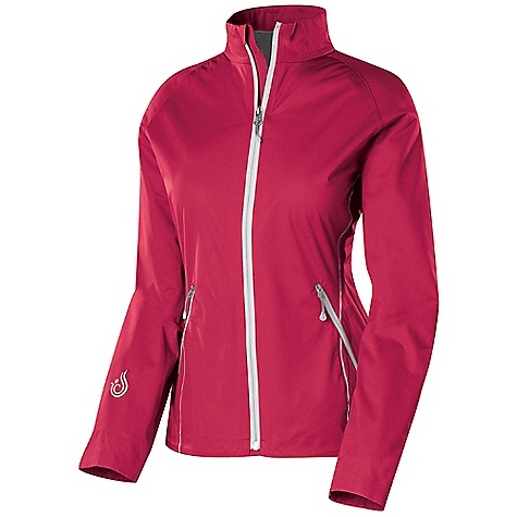 Free Shipping. Isis Women's Velocity Jacket DECENT FEATURES of the Isis Women's Velocity Jacket Cocona Technology enhances moisture transfer - MTVR 40,000 gm/m Raglan sleeves offer full range of motion Hem drawcord cinches through pocket 2 1/4in. stand up collar Reflective detailing offers night visibility - zippers, piping Water resistant zippers 2 front zippered, mesh hand pockets; 1 zippered back pocket The SPECS Body Length: 26in. Fabric: Cocona Velocity - 4.6 oz polyester Interlock Knit with micropoly jersey backer with DWR - $148.95