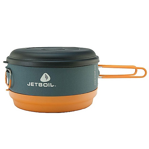 Free Shipping. Jetboil 3 Liter FluxRing Helios Cooking Pot SPECIFICATIONS of the 3 Liter FluxRing Pot by Jetboil Dimensions: 5.1in. x 9.5in. diameter, packed (130 mm x 240 mm) Weight: 19 oz / 550 g - $69.95