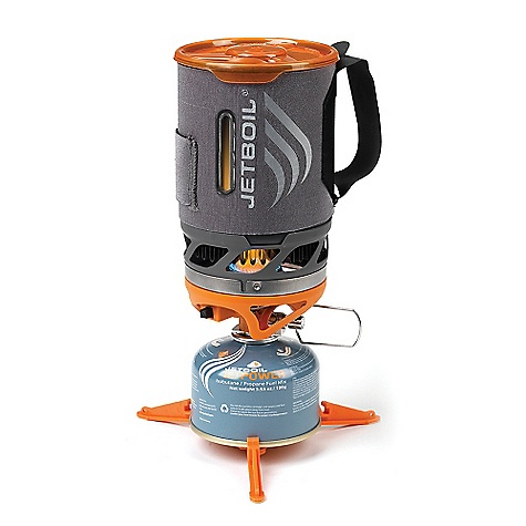 Free Shipping. Jetboil Sol Personal Cooking System DECENT FEATURES of the Jetboil Sol Personal Cooking System Thermo-Regulate technology - consistent heat to 15deg F 0.8 Liter FluxRing cooking cup Insulating Cozy with heat-indicating display Convenient, reliable push-button igniter Pot Support and Stabilizer tripod included Drink-through lid with pour spout and strainer Compatible with all Jetboil Accessories The SPECS Volume: 27 oz / 0.8 Liter Boil Time: 116 oz / 1/2 Liter = 2 minutes 30 sec. avg. over the life of Jetpower Can Water Boiled: 12 Liters per 100 g Jetpower canister Dimensions: 4.1in. x 6.5in. / 104 mm x 165 mm The SPECS for Aluminum Weight: 10.5 oz / 300 g The SPECS for Titanium Weight: 9 oz / 260 g - $119.95