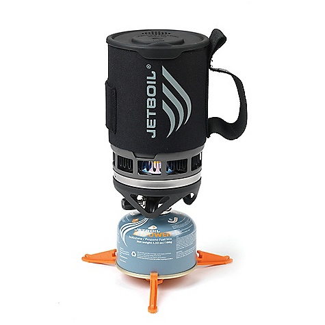 Free Shipping. Jetboil Zip Personal Cooking System DECENT FEATURES of the Jetboil Zip Personal Cooking System 0.8 Liter FluxRing cooking cup with insulating Cargo Cozy Adjustable burner Drink-through lid with pour spout and strainer Bottom cover doubles as a measuring cup and bowl Compatible with all Jetboil accessories The SPECS Weight: 11.75 oz / 333 g Volume: 27 oz / 0.8 Liter Boil Time: 16 oz / 1/2 Liter = 2 minutes 30 sec. avg. over the life of Jetpower Can Water Boiled: 12 Liters per 100g Jetpower can Dimensions: 4.1in. x 6.5in. / 104 mm x 165 mm - $79.95