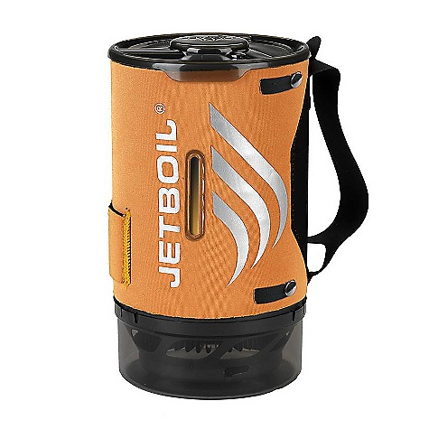 Free Shipping. Jetboil Sumo FluxRing Companion Cup DECENT FEATURES of the Jetboil Sumo FluxRing Companion Cup 1.8 Liter hard-anodized FluxRing cooking cup Insulating neoprene Cargo Cozy with secure nylon handle Drink-through lid with pour spout and strainer Bottom cover doubles as a measuring cup and bowl Compatible with Jetboil Sol, Zip, Flash and PCS The SPECS Weight (Vessel): 12.75 oz / 360g Volume: 59.5 oz / 1.8 Liter Water Boiled: 12 Liters per 100g Jetpower canister Dimensions: 4.9in. x 8.25in. / 125 mm x 210 mm - $59.95