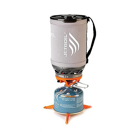 Free Shipping. Jetboil Sumo Titanium Cooking System DECENT FEATURES of the Jetboil Sumo Titanium Cooking System Thermo-Regulate technology - consistent heat to 20degF 1.8 Liter FluxRing cooking cup Insulating Cozy and secure strap Convenient, reliable push-button igniter Pot Support and Stabilizer tripod included Drink-through lid with pour spout and strainer Compatible with all Jetboil Accessories Stows everything inside: pot support, 230g or 100g fuel canister, burner and tripod The SPECS Weight: 12 oz (345 g) - System weight excludes pot support, fuel stabilizer and measuring cup Volume: 60 oz (1.8 Liter) Boil Time: 32 oz (1 Liter) = 4 minutes 15 sec. (avg over the life of Jetpower Can) Water Boiled: 24 Liters per 230 g Jetpower canister Dimensions: 4.9in. x 8.25in. (125 mm x 210 mm) - $189.95
