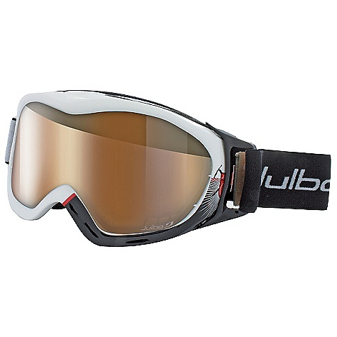 Ski Free Shipping. Julbo Revolution Goggles DECENT FEATURES of the Julbo Revolution Zebra Goggles Cylindrical Zebra Camel or Falcon double lens Air flow Anatomic frame Dual Soft foam Extended outrigger Full silicone strap Easy clip - $159.95