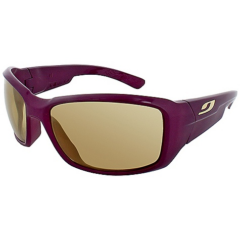 Entertainment Free Shipping. Julbo Women's Whoops Sunglasses DECENT FEATURES of the Julbo Women's Whoops Sunglasses Curved, Wrapping Temples: Temples shaped and cut for better hold with sharp and repeated movements The SPECS Weight: 32 g Base: 8 Lens Width: 61 mm Nose Width: 17 mm Stem Length: 125 mm - $79.95