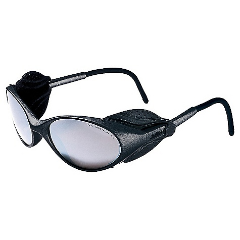 Entertainment Free Shipping. Julbo Colorado Sunglasses DECENT FEATURES of the Julbo Colorado Sunglasses Total Cover: Maximum protection in extreme conditions against harsh sunlight Leather Shields: Symbol of glacier sunglasses, leather covers protect generations of mountain enthusiasts 360deg Adjustable Temples: Stem ends bend in every direction, easy to wear and good hold when worn with helmet, beanie or simply alone Grip Tech: Soft comfort exclusive material on the temples that doesn't stick to hair, giving perfect hold and comfort The SPECS Lens Width: 64 mm Nose Width: 20 mm Stem Length: 130 mm - $59.95