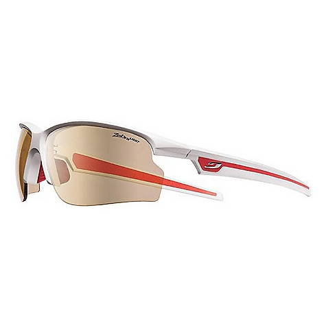 Entertainment Free Shipping. Julbo Ultra Sunglasses DECENT FEATURES of the Julbo Ultra Sunglasses Panoramic: Wide lens surface for broad vision spectrum Curved Wrapping Temples: Temples shaped and cut for better hold with sharp and repeated movements Flex Nose: Adjustable nose piece for perfect fit, adherent material for optimal hold in all situations Grip Tech: Soft comfort exclusive material on the temples that doesn't stick to hair, giving perfect hold and comfort Full Venting: Aerated structure that allows complete air circulation to avoid fog Optical clip The SPECS Lens Width: 70 mm Nose Width: 15 mm Stem Length: 125 mm - $179.95