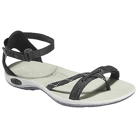 Entertainment On Sale. Free Shipping. Keen Women's La Paz Strap Sandal DECENT FEATURES of the Keen Women's La Paz Strap Sandal Washable polyester webbing upper Multi-point adjustable strap system Metatomical EVA molded footbed Compression molded EVA midsole Non-marking rubber outsole with razor siping Women's specific fit The SPECS Weight: 6.3 oz / 178.6 g Upper: Polyester webbing Lining: Hydrophobic mesh - $49.99