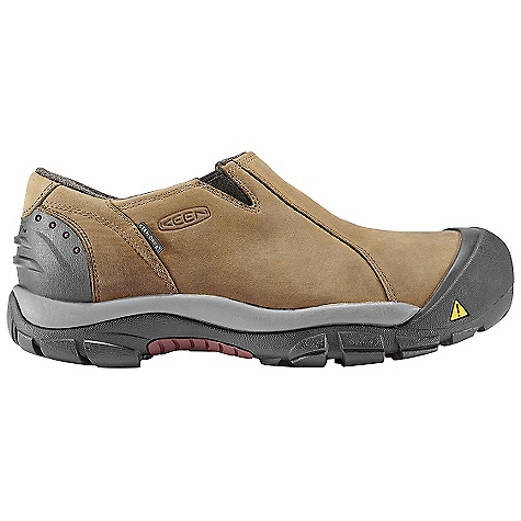 On Sale. Free Shipping. Keen Men's Brixen Low Shoe DECENT FEATURES of the Keen Men's Brixen Low Shoe Waterproof Nubuck Leather Upper 200 Gram Keen.Warm Insulation Wool Felt Lining Thermal Heat Shield Footbed Shellback Heel Support Dual Climate and Ice Traction Rubber Outsole TPU Stability Shank Compression Molded Eva Midsole The SPECS Weight: 19.5 oz / 553.0 g Upper: Leather Lining: Wool Felt With Keen.Dry Waterproof Membrane - $74.99