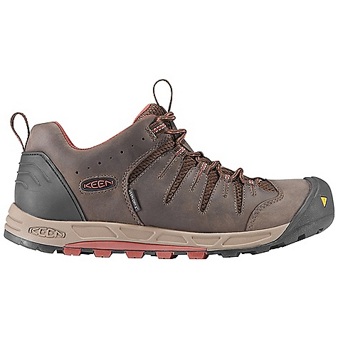 Camp and Hike Free Shipping. Keen Men's Bryce WP DECENT FEATURES of the Keen Men's Bryce WP Waterproof Nubuck Leather Upper Keen.Dry Waterproof Breathable Membrane Removable Metatomical Dual Density Eva Footbed TPU Stability Shank Dual Density Compression Molded Eva Midsole Board Lasted Keen.Zorb Strobel Non-Marking Rubber Outsole The SPECS Weight: 17 oz / 482 g Upper: Leather With Synthetic Webbing and Textile Lining: Moisture Wicking Textile With Keen, Dry Waterproof Membrane - $124.95