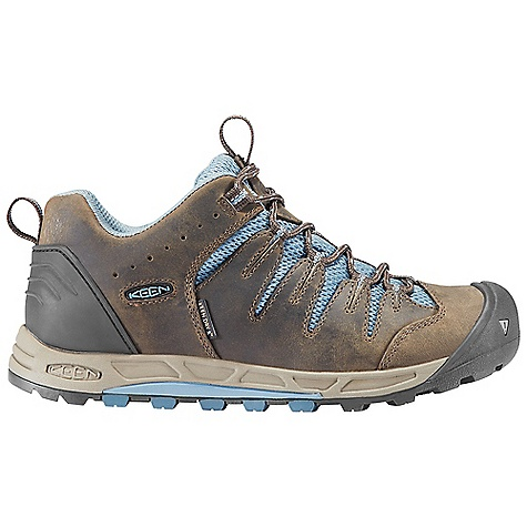 Camp and Hike Free Shipping. Keen Women's Bryce WP DECENT FEATURES of the Keen Women's Bryce WP Waterproof Nubuck Leather Upper Keen.Dry Waterproof Breathable Membrane Removable Metatomical Dual Density Eva Footbed TPU Stability Shank Dual Density Compression Molded Eva Midsole Board Lasted Keen.Zorb Strobel Non-Marking Rubber Outsole The SPECS Weight: 13.5 oz / 383 g Upper: Leather With Synthetic Webbing and Textile Lining: Moisture Wicking Textile With Keen, Dry Waterproof Membrane - $124.95