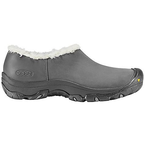 On Sale. Free Shipping. Keen Women's Bailey Slip-On DECENT FEATURES of the Keen Women's Bailey Slip-On Waterproof Nubuck Leather Upper Keen.Dry Waterproof Breathable Membrane 200 Gram Keen.Warm Insulation Faux Fur Lining Gore Elastic Side Panel For Easy On/Off Compression Molded Eva Midsole Dual Cimate and Non-Marking Rubber Outsole The SPECS Weight: 10.5 oz / 298 g Upper: Leather Lining: Synthetic Textile With Keen, Dry Waterproof Membrane - $70.99