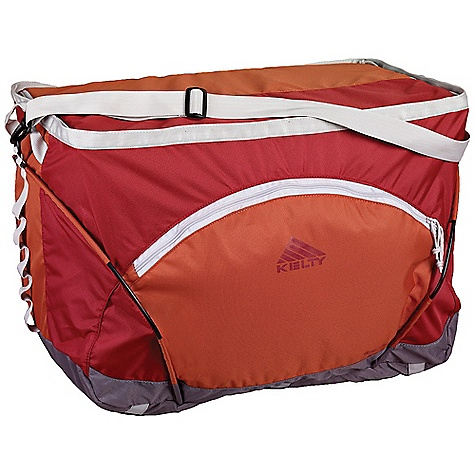 Entertainment On Sale. Free Shipping. Kelty Binto Hauler 3 DECENT FEATURES of the Kelty Binto Hauler 3 PVC-free Freestanding Three Bintos included External zippered stash pocket with organization Dual carry handles Shoulder strap Delrin hoop frame Daisy chain U-shaped lid The SPECS Volume: 7000 cubic inches / 114.8 liter Weight: 4 lbs 6 oz / 2.0 kg Dimension: (H x W x D): 16 x 27.5 x 16in. / 41 x 70 x 41 cm Fabric: Body: 600D Polyester Rip stop, Bottom: 900D Polyester Oxford - $63.99