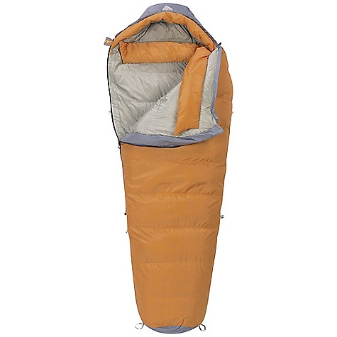 Camp and Hike Free Shipping. Kelty Cosmic Down 0 Degree Sleeping Bag DECENT FEATURES of the Kelty Cosmic Down 0 Degree Sleeping Bag Slant-baffle construction Efficient, form-fitting hood Full baffle collar Insulated hood baffle 58in. two-way locking zipper Zipper draft tube with anti-snag design Internal liner loops Sleeping pad security loops Hang loops for storage Ground-level side seams and differential cut for maximum warmth Stuff sack included Fat Man and Ribbon drawcords Captured cordlock The SPECS Temperature Rating: 0deg F / -18deg C Shape: Semi-Mummy Material: Shell: 50D Polyester Taffeta Insulation: 550 Fill-Power Down Liner: 50D Polyester Taffeta Stuffed Diameter: 9in. / 23 cm The SPECS for Regular Fits To: 6' / 183 cm Length: 78in. / 198 cm Shoulder Girth: 62in. / 157 cm Fill Weight: 39 oz / 1.09 kg Total Weight: 3 lbs 12 oz / 1.68 kg Stuff Length: 18in. / 46 cm The SPECS for Long Fits To: 6' 6in. / 198 cm Length: 84in. / 213 cm Shoulder Girth: 64in. / 163 cm Fill Weight: 42 oz / 1.18 kg Total Weight: 3 lbs 15 oz / 1.76 kg Stuff Length: 18in. / 46 cm - $199.95
