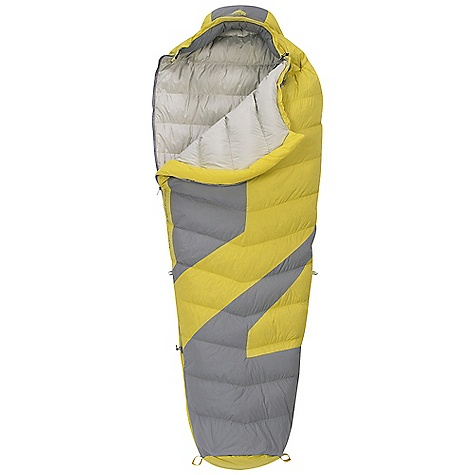 Camp and Hike On Sale. Free Shipping. Kelty Light Year 40 Degree Sleeping Bag DECENT FEATURES of the Kelty Light Year 40 Degree Sleeping Bag Quilt-through construction Efficient, form-fitting hood 58in. two-way locking zipper Zipper draft tube with anti-snag design Internal liner loops Sleeping pad security loops Hang loops for storage Micro Fat Man and Ribbon drawcords Micro captured cordlock Ground-level side seams and differential cut for maximum warmth Compression stuff sack included Storage sack included Zippered chest pocket The SPECS Temperature Rating: 40deg F / 4deg C Stuffed Diameter: 7in. / 18 cm Stuff Length: 11in. / 28 cm Shape: Mummy Material: Shell: 40D Nylon Ripstop Insulation: 600 Fill-Power Down Liner: 50D Polyester Micro Pongee The SPECS for Regular Fits To: 6' / 183 cm Length: 78in. / 198 cm Shoulder Girth: 62in. / 157 cm Fill Weight: 12 oz / 0.34 kg Total Weight: 1 lb 13 oz / 0.81 kg The SPECS for Long Fits To: 6' 6in. / 198 cm Length: 84in. / 213 cm Shoulder Girth: 64in. / 163 cm Fill Weight: 13 oz / 0.36 kg Total Weight: 1 lb 15 oz / 0.87 kg - $118.99