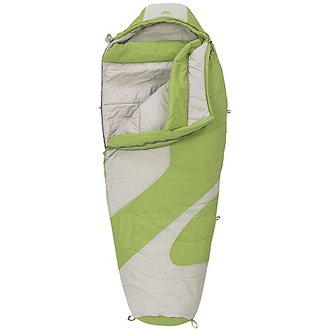 Camp and Hike Free Shipping. Kelty Women's Light Year XP 20 Degree Sleeping Bag DECENT FEATURES of the Kelty Women's Light Year XP 20 Degree Sleeping Bag Two-layer off-set quilt construction Efficient, form-fitting hood Top baffle collar Insulated hood baffle 58in. two-way locking zipper Zipper draft tube with anti-snag design Internal liner loops Sleeping pad security loops Hang loops for storage Micro Fat Man and Ribbon drawcords Micro captured cordlock Ground-level side seams and differential cut for maximum warmth Compression stuff sack included Storage sack included Zippered chest pocket The SPECS Temperature Rating: 20deg F / -7deg C Stuffed Diameter: 10in. / 25 cm Shape: Mummy Fits To: 5'6in. / 168 cm Length: 72in. / 183 cm Shoulder Girth: 58in. / 147 cm Fill Weight: 34 oz / 0.95 kg Total Weight: 3 lbs 4 oz / 1.46 kg Stuff Length: 15in. / 38 cm Material: Shell: 40D Nylon Ripstop Insulation: Ecopet Soft Liner: 50D Polyester Micro Pongee - $159.95