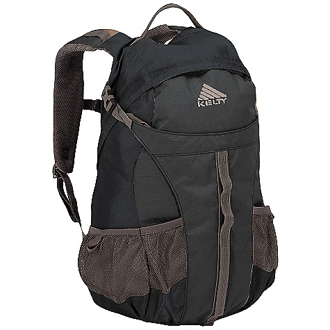 On Sale. Free Shipping. Kelty Redstart 26 Pack DECENT FEATURES of the Kelty Redstart 26 Pack Hydration compatible Panel loading Mesh water bottle pockets Ice-axe loops HDPE frame sheet Ventilating back panel The SPECS Volume: 1600 cubic inches / 26 liter Weight: 1 lb 12 oz / 0.8 kg Dimension: (H x W x D): 19.5 x 13 x 12in. / 49 x 33 x 30 cm Fabric: Body: 420D Polyester Ball Shadow Reinforcement: 420D Polyester Oxford - $47.99