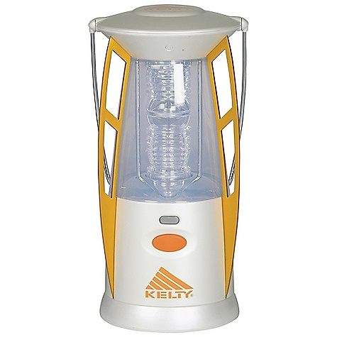 Free Shipping. Kelty LumaCamp Lantern DECENT FEATURES of the Kelty LumaCamp Lantern 2 Cree LEDs Anodized aluminum ribs Weather-resistant Batteries: 4 D, not included Frosted exterior lens Internal light reflector Advanced Rheostat switch ABS plastic body Hook-shaped bail allows lantern to be easily hung Weight measured without batteries The SPECS Total Weight: 1 lb 11 oz / 760 g Dimension: 9.8 x 5.1 x 5.1in. / 25 x 13 x 13 cm Maximum Lumen Output: 170 Minimum Lumen Output: 60 Burn Time (High): 17 hrs Burn Time (Low): 172 hrs Usable Light: 45' / 12.2 m Diameter Readable Light: 25' / 7.6 m Diameter - $55.95
