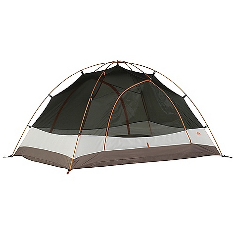 Camp and Hike Free Shipping. Kelty Trail Ridge 2 Person Tent DECENT FEATURES of the Kelty Trail Ridge 2 Person Tent Freestanding design Color coded clip construction Taped floor seams Gear-loft included ArcEdge Floor Mesh wall panels Internal storage pockets Noiseless zipper pulls Taped seams Side-release tent/fly connection Fly vents Noiseless zipper pulls Guyout points The SPECS Seasons: 3 Number of Doors: 1 Number of Vestibules: 1 Number of Poles: 2 Pole Type: DAC Pressfit Wall: 68D Polyester Floor: 68D Nylon, 1800 mm Fly: 75D Polyester 1800 mm Capacity: 2 person Minimum Weight: 4 lbs 15 oz / 2.24 kg Packaged Weight: 5 lbs 8 oz / 2.49 kg Floor Area: 32.5 square feet / 3.02 square meter Vestibule Area: 8.5 + 8.5 square feet / 0.79 + .079 square meter Dimension: 87 x 54 x 45in. / 221 x 137 x 114 cm Packed Dimension: 7 x 23in. / 17.7 x 58.4 cm - $179.95
