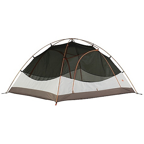 Camp and Hike Free Shipping. Kelty Trail Ridge 3 Person Tent DECENT FEATURES of the Kelty Trail Ridge 3 Person Tent Freestanding design Color coded clip construction Taped floor seams Gear-loft included ArcEdge Floor Mesh wall panels Internal storage pockets Noiseless zipper pulls Taped seams Side-release tent/fly connection Fly vents Noiseless zipper pulls Guyout points The SPECS Seasons: 3 Number of Doors: 1 Number of Vestibules: 1 Number of Poles: 2 Pole Type: DAC Pressfit Wall: 68D Polyester Floor: 68D Nylon, 1800 mm Fly: 75D Polyester 1800 mm Capacity: 3 person Minimum weight: 5 lbs 12 oz / 2.61 kg Packaged weight: 6 lbs 5 oz / 2.86 kg Floor Area: 44 square feet / 4.09 square meter Vestibule Area: 9 + 9 square feet / 0.84 + 0.84 square meter Dimension: 88 x 72 x 47in. / 224 x 183 x 119 cm Packed Dimension: 7 x 24in. / 17.7 x 60.9 cm - $209.95