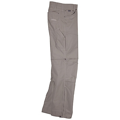 Free Shipping. Kuhl Men's Liberator Convertible Pant FEATURES of the Kuhl Men's Liberator Convertible Pant Pants convert quickly and easily to shorts with snag-free leg zippers that are hidden from view Stealth Patented zip-off system Combed, peached and super sueded for softness DRYPOINT fabric technology DRYPOINT is a nylon rich fabric with a touch of Cotton on the face for breathability and comfort, and pulls moisture to the surface for quick evaporation Kuhl's Rhino Technology places rugged exterior non-stretch fabrics on top of soft, stretchy fabric for increased durability and skin like flexibility for more natural stretch and comfort Rhino Technology is used in high-mobility areas, such as the back waistband and the knees Gusseted crotch and articulated knees provide amazing freedom of movement for increased comfort Born Free Gusseted Crotch is an added fabric panel inserted in the pant leg and crotch area that adds extension to the range of motion for the pant Free Ryde Waist follows the natural contour of the human body, and features a longer length from belt top to crotch for extra room to extend your range UPF 40 achieved through mechanically spun yarn Standard 5-pocket design with 2 zippered thigh pockets, a welt pocket on the left side, and a 3D cell phone pocket on the right side Fiocchi Snap lies flat against the body with no stem to dig into the waist and has been custom engineered to increase the closure strength Kuhl's signature Athletic Fit pants feature the gusseted crotch and articulated knees, and are also cut generously in the thigh to offer unbeatable, unrestricted movement - $94.95