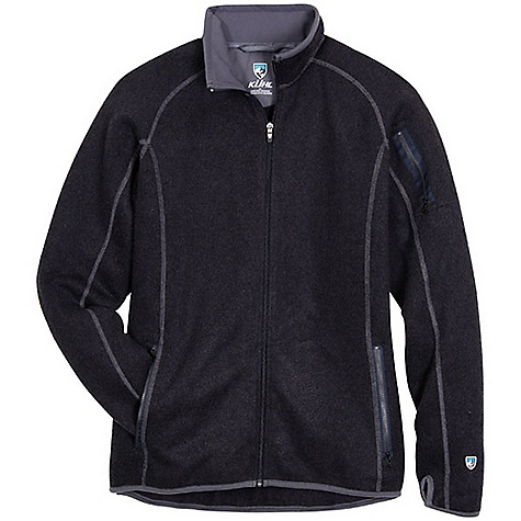 On Sale. Free Shipping. Kuhl Men's Scandinavian Full Zip DECENT FEATURES of the Kuhl Men's Scandinavian Full Zip Collar lined with micro fleece Upper left sleeve zip stash pocket Kuhl Signature thumbloops Easy care, wash and wear The SPECS Fabric: 78% Acrylic, 22% Polyester - $70.99