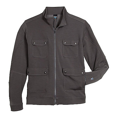 On Sale. Free Shipping. Kuhl Men's Stolkholm Jacket DECENT FEATURES of the Kuhl Men's Stolkholm Jacket Smooth wool face with soft fleece back Soft fleece back 4-way stretch Anatomic fit The SPECS Fabric: 70% Poly, 20% Wool, 10% Elastane Fabric Construction: 8.9 oz/sq. yd; 300 GSM - $124.99