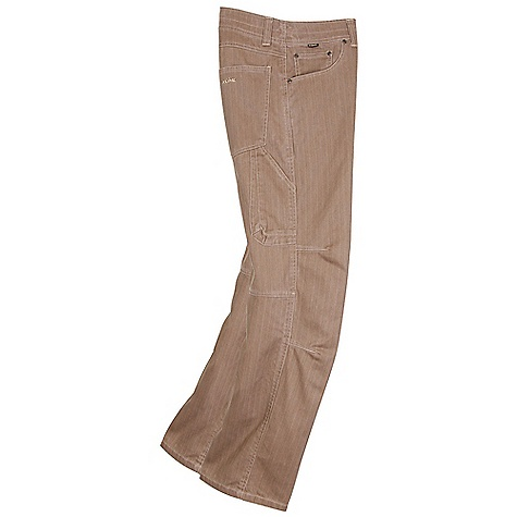 Free Shipping. Kuhl Men's Hi-Lo Cord Pant DECENT FEATURES of the Kuhl Men's Hi-Lo Cord Pant Vintage Patina dyed and river washed 3-D cell phone pocket Articulated knees The SPECS Fabric: 100% Cotton Fabric Construction: 9.9 oz/sq. yd; 335 GSM - $70.00