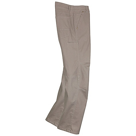 "The Kuhl Men's Slackr Pant is much like the ""chino pant"" style but with lots of stretch. The classic angled pockets and stealth cell phone pocket keep your phone secure and within an arm's reach away. The Wundura fabric is the incredible combed Cotton twill finely woven with a High thread count and stretch with a super suede finish. Inspired by Khakis but with Kuhl?s forward thinking design details and Technical Features including articulated knees that give you full range of motion. The front makes an understated conservative appearance, while the back has traditional jean style rear pockets great for working during the week and relaxing all weekend. Features of the Kuhl Men's Slackr Pant Wundura fabric is the incredible combed cotton twill that is finely woven with a High thread count and stretch and a sueded look gives this the combed, peached, super sueded and super soft feel you love to wear all day long K?hl Yoke Waistband follows the natural contour of the human body with the hips rising in the back The Free Ryde Waist provides a contour Fit to keep the pant in place as you move and also has a longer length from belt top to crotch for extra room to extend your range Classic style in. chinoin. pant but with lots of stretch Lightweight fabric due to the inclusion of spandex Stealth cell phone pocket Gusseted crotch for freedom of movement Fiocchi Snap lays flat against the body with no stem to dig into your waist and has been custom engineered to increase the closure strength Vintage Patina Dye is a High quality double dye process that will naturally fade with age, exposure and wash. These experiences create authentic character and a weathered appearance that echoes your own Articulated knees for full range of motion - $79.95"