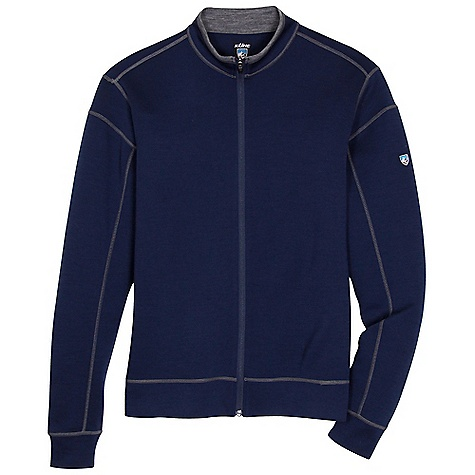 On Sale. Free Shipping. Kuhl Men's Kuhl Team Full Zip Jacket DECENT FEATURES of the Kuhl Men's Kuhl Team Full Zip Jacket Flatlock seams for increased strength and low bulk Tightly knit for durability Easy care, wash and wear The SPECS Fabric: 100% Lightweight washable Merino Wool - $83.99
