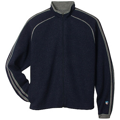 Free Shipping. Kuhl Men's Stuttgart Jacket DECENT FEATURES of the Kuhl Men's Stuttgart Jacket Contrast flatlock stitching keeps seams flat for low bulk with layering Kuhl Signature thumbloops The SPECS Fabric: 100% Double plated boiled Merino Wool - $135.00