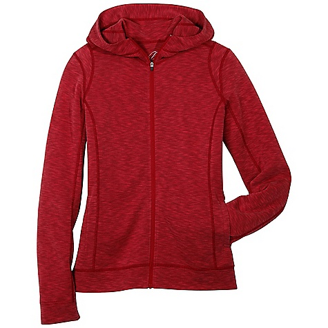 Free Shipping. Kuhl Women's Moongazer Hoody DECENT FEATURES of the Kuhl Women's Moongazer Hoody Full zip with contoured hood Contrast flat lock stitching for increased strength and reduced bulk UPF 50 Easy care, wash and wear The SPECS Fabric: Kuhl Touch 68% Tencel, 32% Polyester Fabric Construction: 6 oz/sq. yd; 205 GSM - $75.00