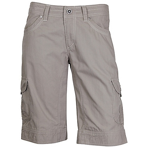 Features of the Kuhl Women's Splash 11 Short Stretch fabric for freedom of movement 8 pockets (including two hidden security) Easy cAre, wash and wear - $64.95