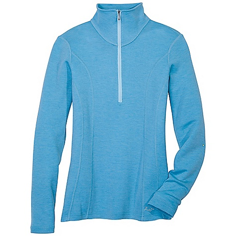 Free Shipping. Kuhl Women's Alpina 1-2 Zip DECENT FEATURES of the Kuhl Women's Alpina 1/2 Zip Reverse coil 12 zip for easy on and off Soft hand of 19.5 micron Merino Wool Eco-friendly and skin-friendly tencel Sporty double princess lines Flatlock stitching for increased strength and less bulk The SPECS Fabric: 75% Merino Wool, 25% Tencel Fabric Construction: 6.8 oz/sq. yd; 230 GSM - $99.00