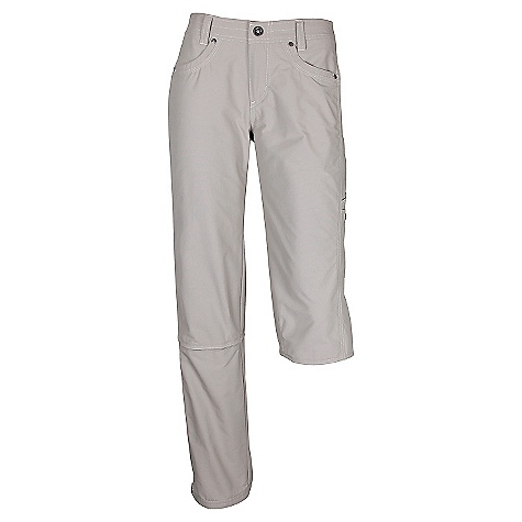 Free Shipping. Kuhl Women's Bandita Convertible Pant DECENT FEATURES of the Kuhl Women's Bandita Convertible Pant Side stretch panels for komfort and movement 3 in l - Stealth Zip off legs for capri, rolls up from capri for shorts Capri inseam: 18in., Roll-up short inseam: 11in. Right and left zipper UPF 40 Easy care, wash and wear The SPECS Fabric: Dry point 77% Nylon 23% Cotton Fabric Construction: 4 oz/sq. yd; 137 GSM - $89.00
