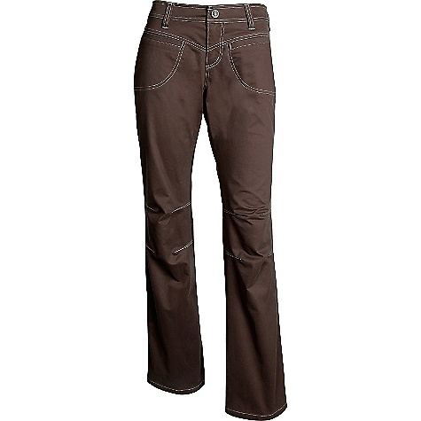 On Sale. Free Shipping. Kuhl Women's Dulce Pant DECENT FEATURES of the Kuhl Women's Dulce Pant Super sueded Articulated knees The SPECS Inseam: 30in. and 32in. Fabric: 83% Cotton, 15% Tencel, 2% Spandex - $54.99