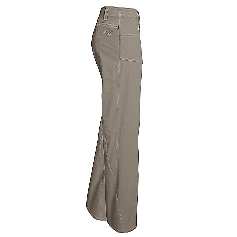 On Sale. Free Shipping. Kuhl Women's Vala Pant DECENT FEATURES of the Kuhl Women's Vala Pant 4 way stretch and 3-D leg construction for freedom of movement 2 front pockets and 1 back pocket with zip closure UPF 50 Easy care, wash and wear The SPECS Fabric: Tufflex 88% Nylon, 12% Spandex Fabric Construction: 4.9 oz/sq. yd; 166 GSM - $55.73