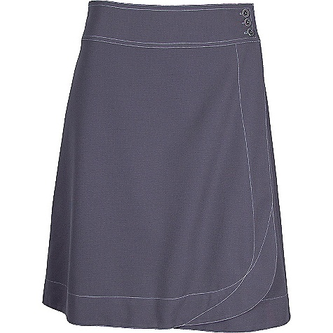Free Shipping. Kuhl Women's Lavanda Skirt DECENT FEATURES of the Kuhl Women's Lavanda Skirt Quick dry, wicking, four-way stretch fabric UPF 40 21in. Length, just above the knee Rydr rise Easy care, wash and wear The SPECS Fabric: Feather Kuhl 100% Polyester - $55.00